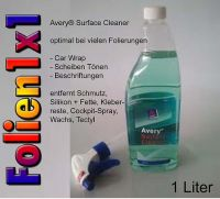 1 Liter Avery® Surface Cleaner Reiniger für Car Wrap+Folierung